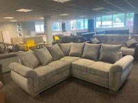BRAND NEW - Brand New Corner Sofa - graphite