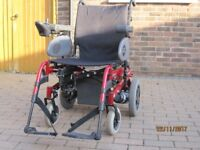 Quickie Rumba Fold Up Electric Wheelchair