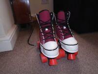 Monster Quad Roller Skates - Size 5 (only used once.)