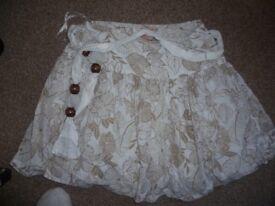 Rip Curl summer skirt size 8