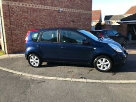 Nissan Note Acenta 1.4 petrol 2 lady owners