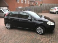 2007 Fiat Grande Punto 1.2 Active, Very low mileage, Cheap to tax and Insure.