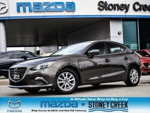 2014 Mazda MAZDA3 SPORT GS AUTO,LOW KMS,REMOTE STARTER+HEATED,CR