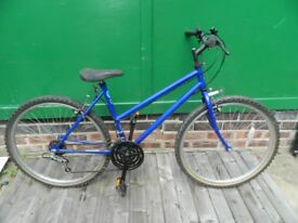 Ladies Townsend 5 gear blue bicycle