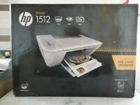 comes all boxed up / hp deskjet 1512 printer