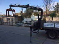 mitsubishi canter 7.5ton with hiab crane for sale