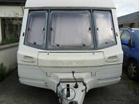 swift corniche touring caravan damage repairable