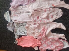 Bundle of baby clothes 0-3