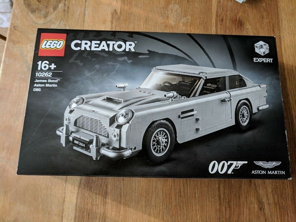 lego creator aston martin james bond db5 - brand new, unopened