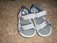 Boys Hi-Tec sandals size 13