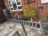 Large heavy duty ladders