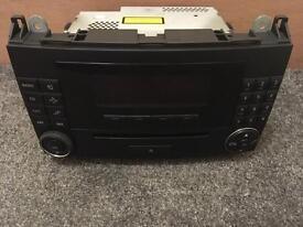Mercedes-Benz B-Class Audio 20 CD Player / Radio / Head Unit
