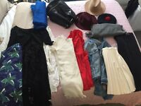 ALL clothes (bags and hats )£2-£5
