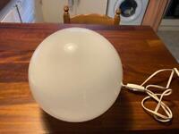 Sphere floor lamp