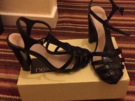 Next black heels size 5