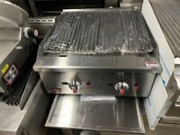 NEW GAS 60 CM FLAME WATER CHAR GRILL CATERING COMMERCIAL KITCHEN FAST FOOD TAKE AWAY KITCHEN