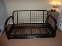 Metal Sofa Bed black frame