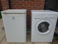 QUICK SALE PICK UP ONLY Selling a Working White fridge and white washer/dryer