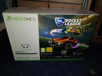 Brand New And Sealed Xbox One S White 500GB With Rocket League & 3 Months Xbox Live