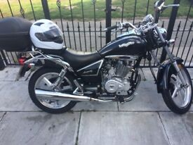The 125cc CRUISER STYLE low mileage