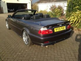 2005 BMW 320Cd M Sport convertible