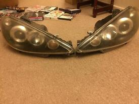 206 Angel Eye Headlights