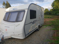 coachman wanderer 13/2 caravan, as when left dealers as not used and being sold due to ill health