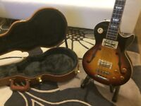 ES-Les Paul Short Scale Faded Darkburst Bass 2015 model in perfect condition