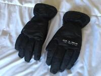 Black Ski Gloves Size L