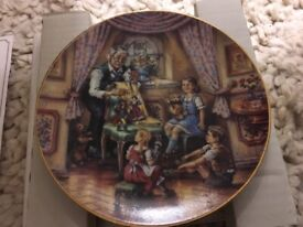 German plates Bradford Exchange, All with certificates, Excellent Condition with boxes