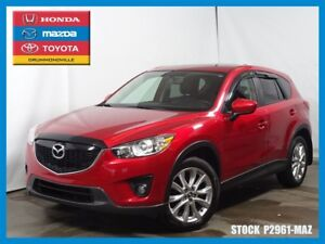 2014 Mazda CX-5 GT+AWD+NAVIGATION+CUIR+TOIT+A/C*ROUGE WOW*