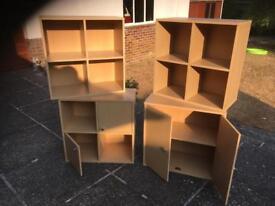 Ikea cube units