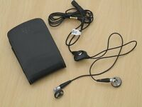 Genuine Blackberry Curve 8520 9300 Leather Slip Pouch Pocket Case