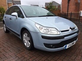 2005 CITROEN C4 1.4 SX 5DR LOW MILEAGE LONG M.O.T
