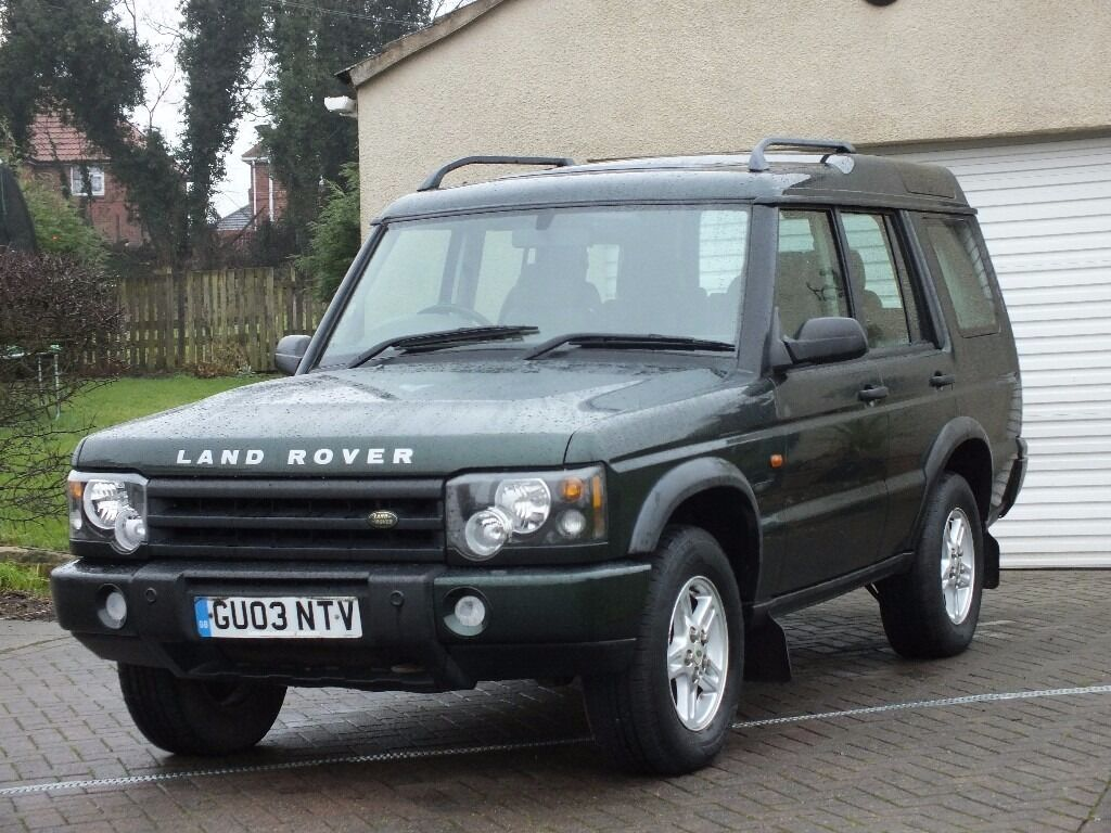 2003 land rover discovery 2 5 td5 auto green 4x4 turbo diesel 2 keys 12 month mot only 2. Black Bedroom Furniture Sets. Home Design Ideas