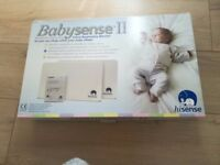 Babysense II, infant respiratory monitor