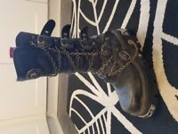 New Rock Boots Size 9