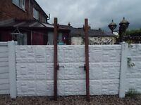 Gate posts / wrought iron gates / driveway / garden gates / metal gates / steel gate posts / garden