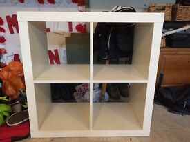 Ikea box shelving unit