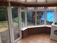 Conservatory - Double Glazed White PVC (4m x 3.5m) - Kenilworth/Coventry