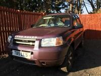 **4X4**LAND ROVER FREELANDER XEI S-WAGON 1.8 LONG MOT,LOW MILES