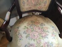 Tapestry Antique chair