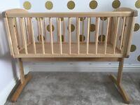 Baby Crib- Mothercare swing crib