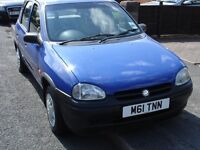 VAUXHALL CORSA 1.2 BARN FIND CLASSIC VERY LOW GENUINE MILEAGE AMAZING