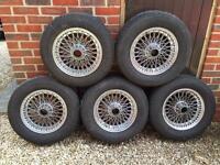 Triumph TR6 Wire Wheels