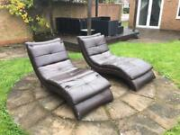 2 x Chaise Lounges