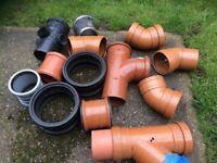Drain pipe fittings