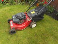 Mountfield Laser Omega 42 powerdrive lawnmower / lawn mower