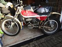 Bultaco Slimline Sherpa T Trials Bike