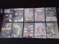 18 old dvd,s and five video,s collectable films